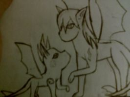 Raiden and Kumo, The Lightning Eevees. by Kogalover4ever