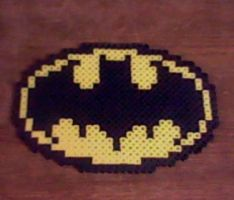 Batman Logo Perler by Perler-Pop