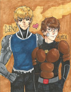 Genos and Mumen (+VIDEO) by Mango-Gurl