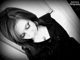 February 2012, black and white, demure by janielle623