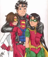 Original Young Justice by PatchedFox