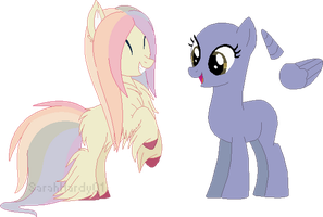 SSPC: Pastel Puff by m00nstonee