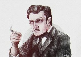 Vincent Price by o-w-l-y
