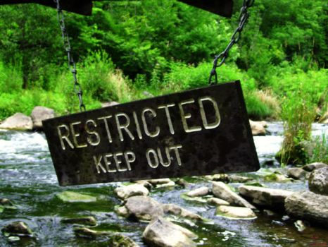 keep out by lady-siamix