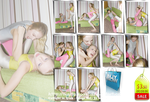 Catfight in gym lycra -Set with 71 pics- $ 3.50 by MartaModel