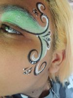 Face Paint by howlingghostwolf