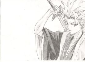 Toshiro by EnragedPencil