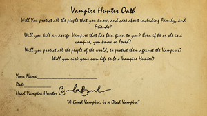 Become a Vampire Hunter!!Now! by WolfLover887