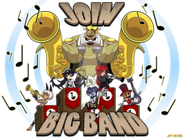 Join the Big Band by jeffnevins