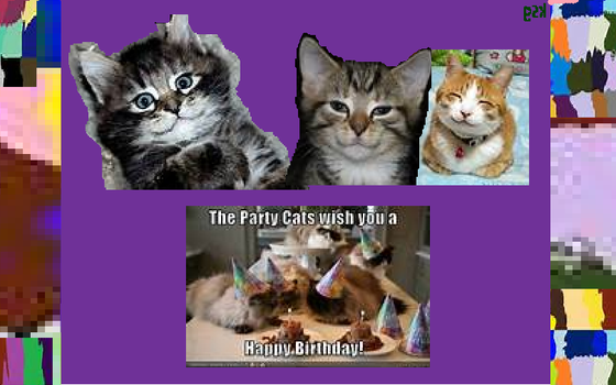 Purrfect Birthday Wishes.....lol. by boxingglovehands