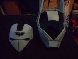 ironbat helmet face plate removed by firebapx