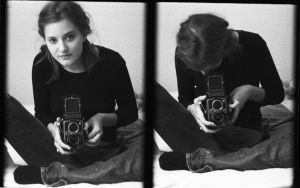 Me with my Rollei by Akemisatya