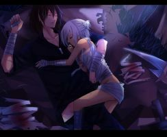 Talon and Riven 4 by Yosukii