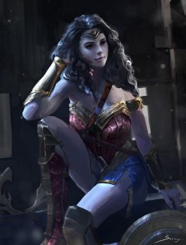 Diana Prince by Ron-faure