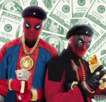 MC Spider and D-Pool by Timetravel6000v2