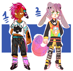 Adoptable Batch #5//CLOSED by 00M0scaD0mestica00