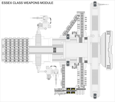 Essex Class Weapons Module WIP 1 by Jon-Michael-May