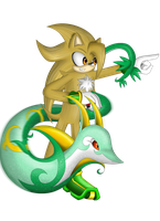 .:Comm:. Frazer and Serperior by SonARTic
