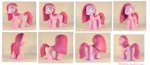 MLP:FiM -  Pinkamena Figure by honeygrove