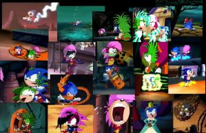 Sonic Underground Embaressing by colodgeartist