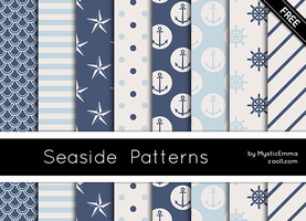 Seaside Patterns by MysticEmma