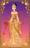 Disney Heroine: Golden Empress by moonprincess22