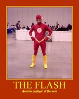 Awesome cosplayer: The Flash by MasterRBG