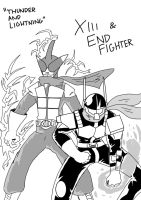 XIII and End Fighter by Gundamu