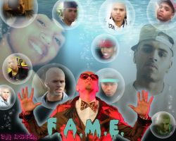 Chris Brown Wallpaper   Bubbles by angelchrisbaby