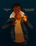 Bartimaeus Trilogy: Playing with fire by Auro-Cyanide