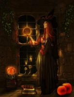The witching hour by ArtbyValerie