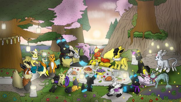 Summertime Evening Grand Mon Party by Nightforest
