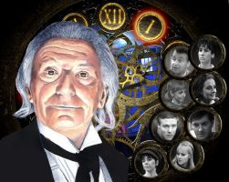 The First Doctor by killashandra-falta