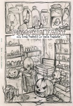 pumpkin fairy - 001pencils.. by neurotic-elf