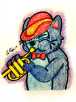 Play That Horn Scat Cat by chelano
