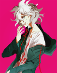 spoiler komaeda is a dick by Kite-Mitiko