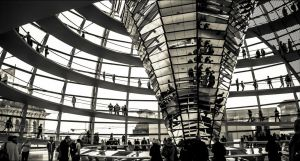 The Dome of the German House of Parliament by db-photoblogDOTcom