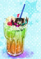 Soda Float by kur0ageha