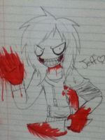 JEFF THE KILLER INSANITY by Helen-RubiTH