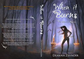 BOOK COVER - When It Burns by MirellaSantana