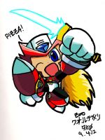 Pizza! Colored by Fortekin7X0