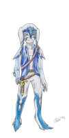 Derio character for Issura by ChibiMieze