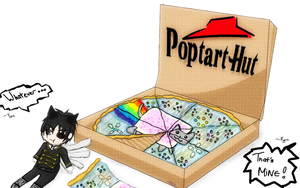 Megaten Event Pizza Toppings by LuciferXero