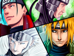 Hokages (collab) by uchiha-itasuke