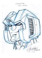 AHM Starscream head study by GuidoGuidi