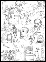 Sketch Page 3 by DamienSaelak