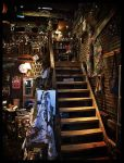 Shop Stairs by Photo-Cap