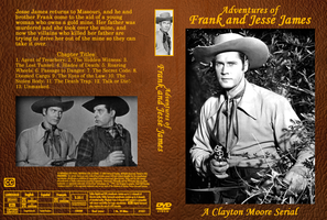 Adventures of Frank and Jesse James DVD Cover by Black-Battlecat