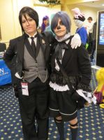 Newcon 2013: Ciel and Sebastian by Catchmewithyourlips