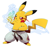 Pikachu Mishima by ss2sonic